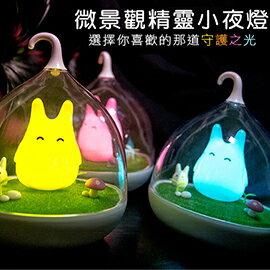童話景觀超萌小精靈LED床燈/小夜燈
