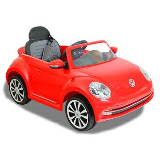 VW BEETLE 福斯金龜兒童電動車 (單驅/對頻搖控/單開門/皮椅/MP3/FM/公司貨/附保固)→FB姚小鳳