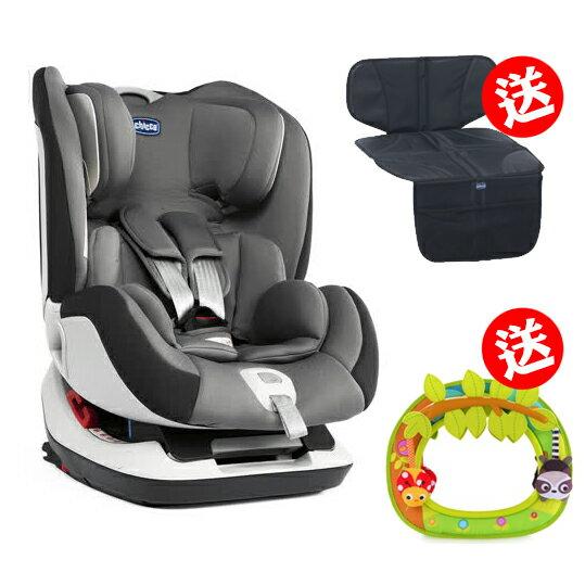 《chicco》Seat up 012 Isofix安全汽座-煙燻灰