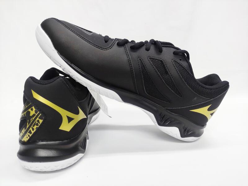 大自在 MIZUNO 美津濃 男女款 排球鞋 羽球鞋 膠底 止滑 THUNDER BLADE 2 V1GA197052