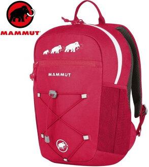 Mammut 長毛象 兒童背包/小朋友背包 附玩偶 First Zip 2510-01542 3341 胭脂紅4L