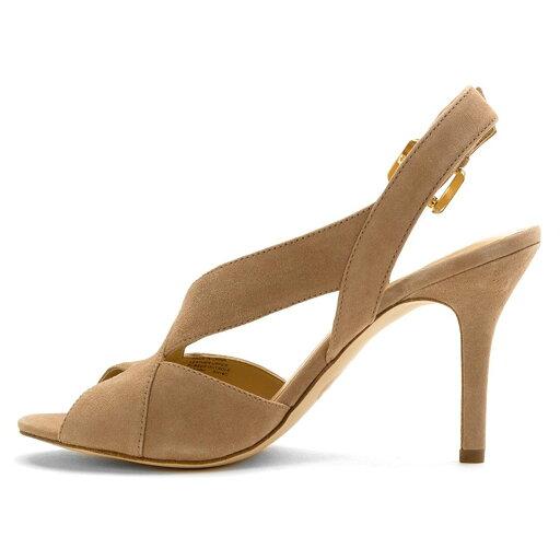 MICHAEL Michael Kors Womens becky Suede Open Toe Special, Dk Khaki, Size 11.0 fe83c1b80d1cca160e4e54bd1ed921de