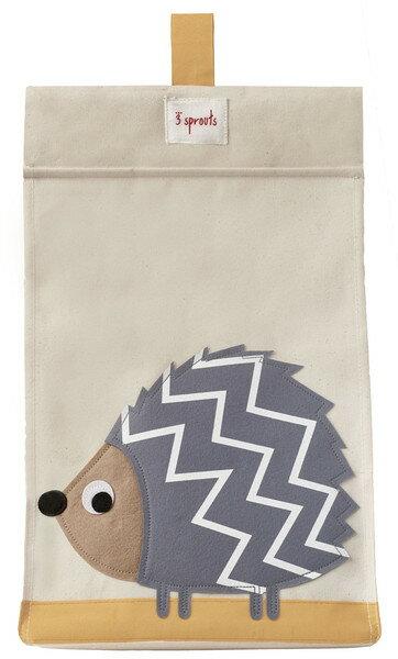 【淘氣寶寶】加拿大 3 Sprouts 尿布收納袋-刺蝟【大容量口袋,收納便利】【保證公司貨】