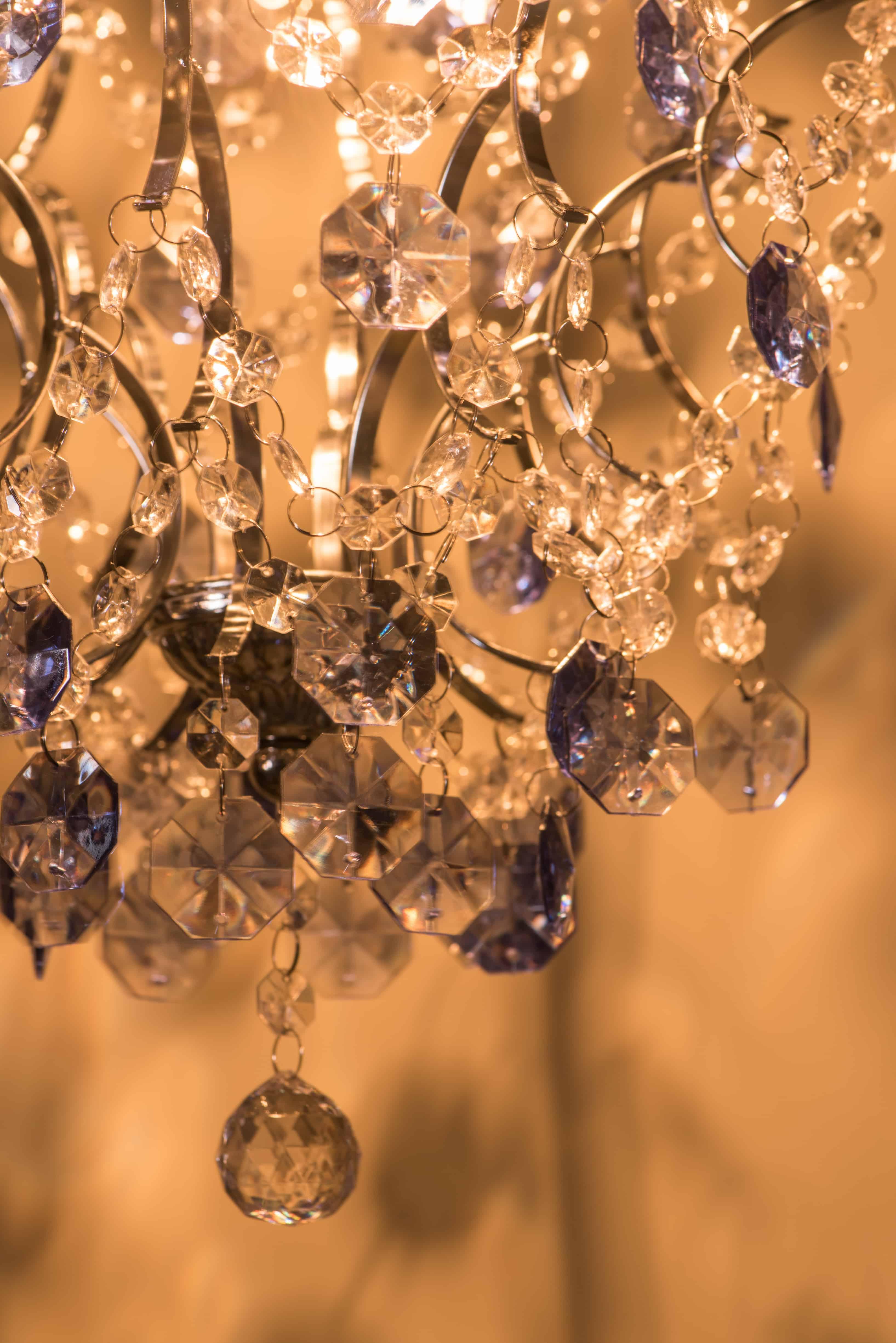 優雅鍍鉻架壓克力珠吊燈-BNL00044 5