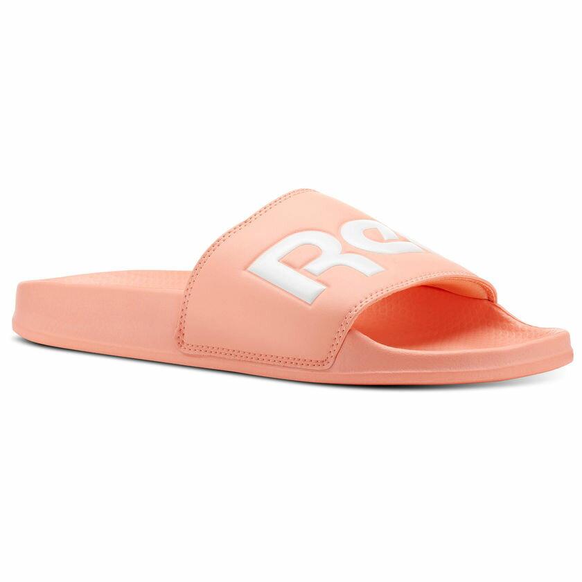 REEBOK Classic Slide 女鞋 拖鞋 休閒 基本款 輕量 舒適 粉橘 【運動世界】 CN4188