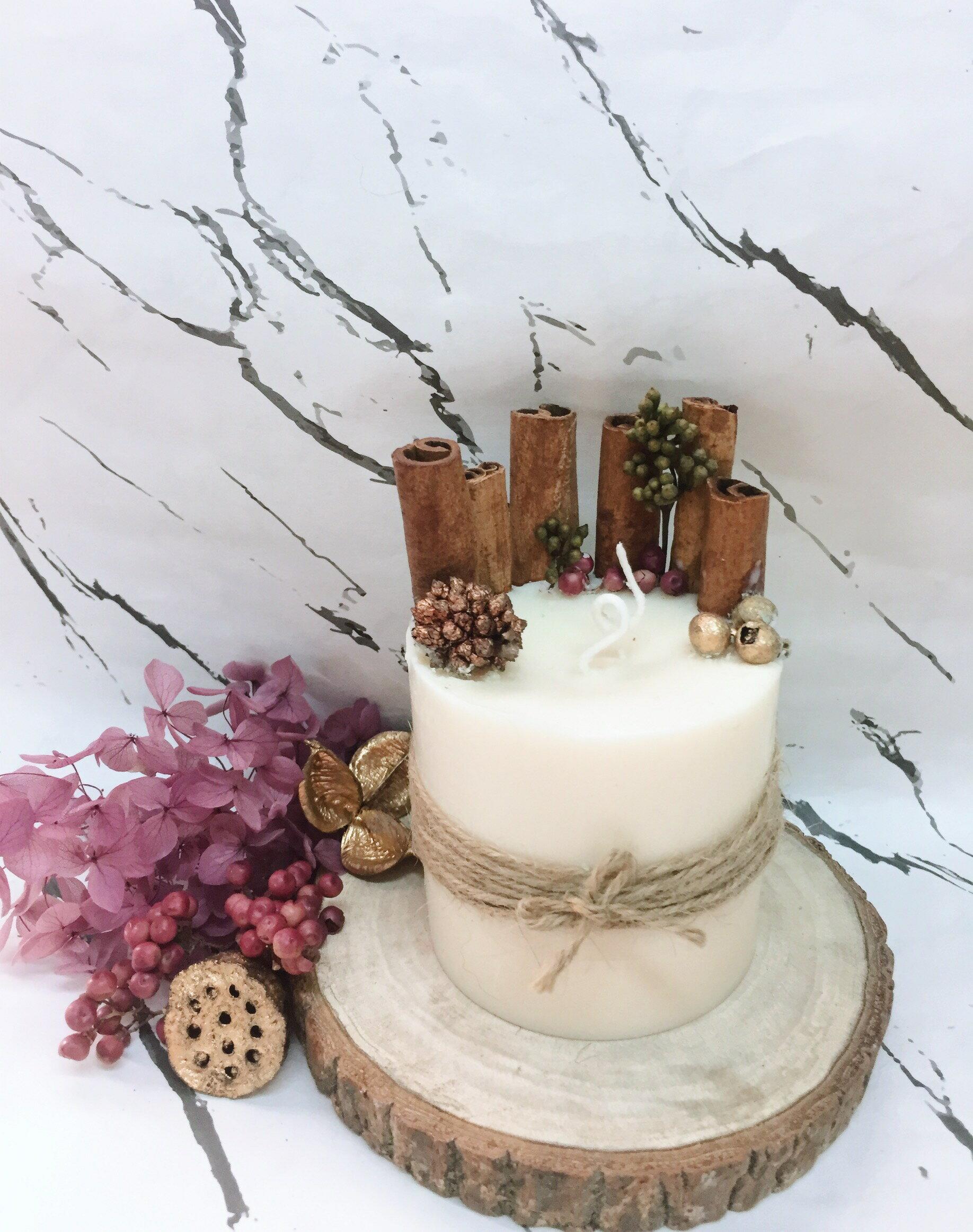 肉桂香氛蠟燭  **天然大豆精油蠟燭** 香氛手工製作 情人節禮物 生日禮物 結婚送禮