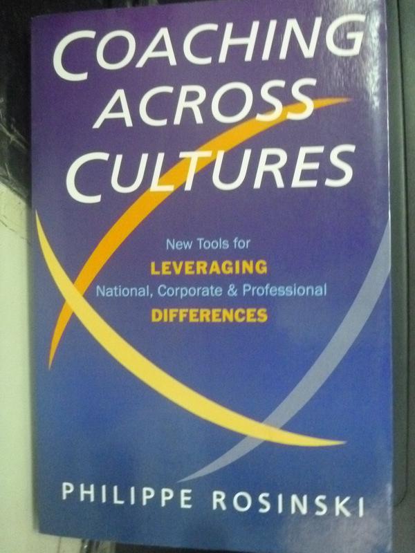 【書寶二手書T7/財經企管_ZJW】Coaching across cultures : new tools for _