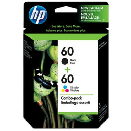 【HP 墨水匣】HP CN067AA NO.60 雙色組合包原廠墨水匣