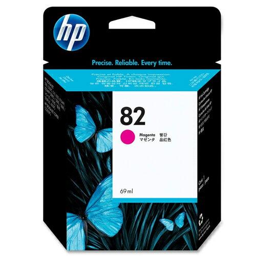 【HP 墨水匣】 C4912A /NO.82 繪圖機 紅色原廠墨水匣