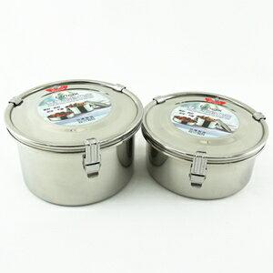 【珍昕】 理想牌不銹鋼雙層密封餐盒系列~(2尺寸 40.28oz)