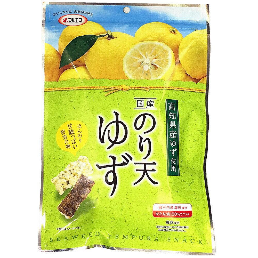 ???? 柚子海苔天餅乾 海苔天婦羅脆餅 高知柚子風味 ??天 ??60g