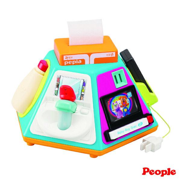 *限量特賣* Fisher-Price費雪 - 寶寶小餐椅 + People - 新超級多功能七面遊戲機 兩大原廠聯名超值組 2