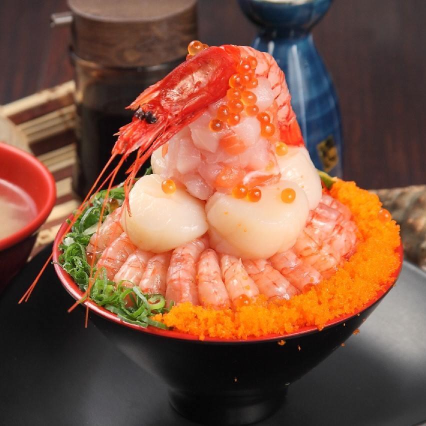 干貝甜蝦火山丼一人份【南京店限定】★電子票券★餐券★ 0
