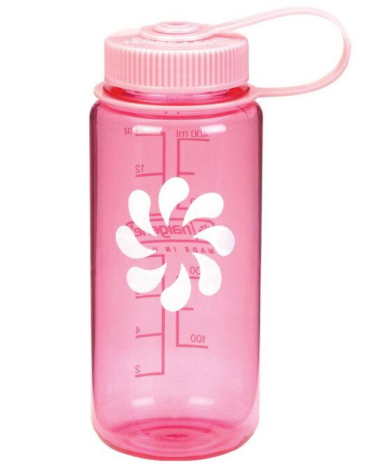 Nalgene 寬嘴水壺/運動水瓶/寬口瓶 Tritan 500cc 美國製 2178-1216 粉紅