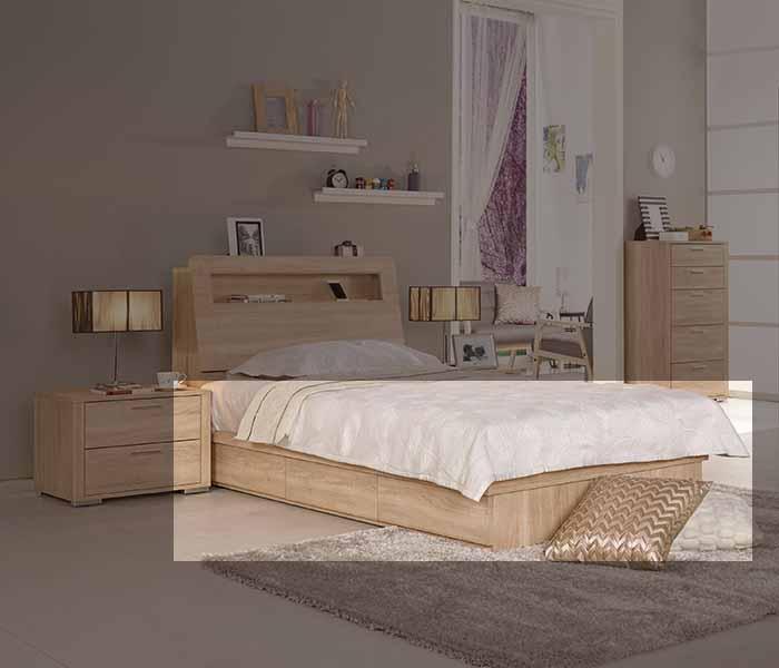 【尚品傢俱】CM-075-3 格瑞斯3.5尺抽屜式床底