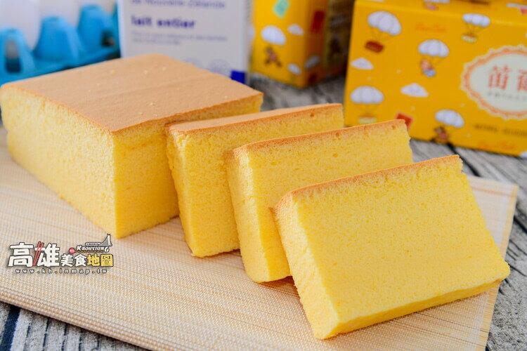 不加水!極濕潤蛋糕體!招牌黃金蛋糕(600g/盒)-笛爾手作現烤蛋糕! 4