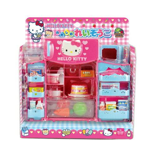 【真愛日本】16110200005冰箱玩具組-KT大臉愛心   三麗鷗 Hello Kitty 凱蒂貓 正品 玩具