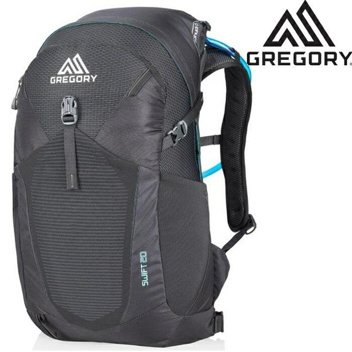 Gregory Swift 20 登山背包/郊山小背包/透氣背網包 女款 20升 92488 6395 舞台黑 台北山水