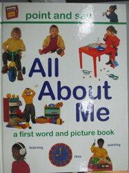 【書寶二手書T2/少年童書_ZCP】All About Me : a very first picture book_S