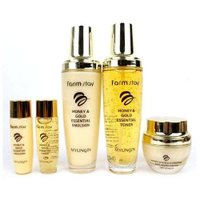 Korean Farm Stay Honey&Gold Essential Skin Care Set