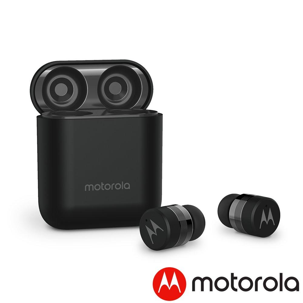 智能定位➤Motorola 輕便型真無線藍牙耳機 Verve Buds 110 藍牙5.0 防潑水 入耳式 無線耳機