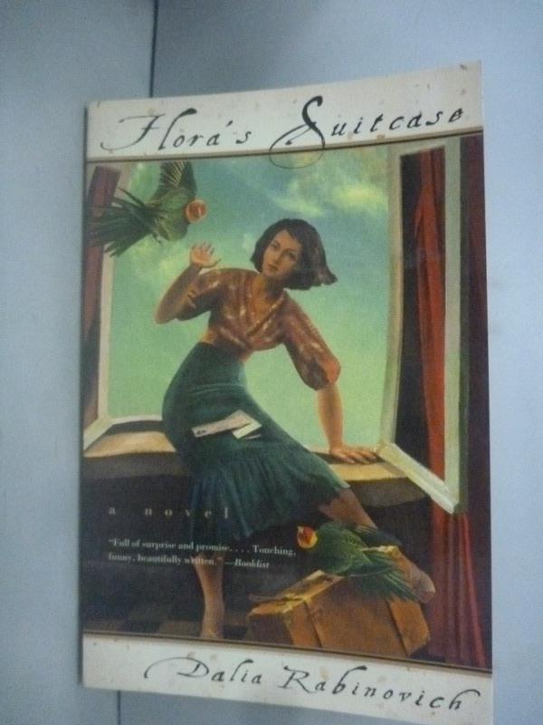 ~書寶 書T8/原文小說_HIH~Flora #x27 s Suitcase_Dalia