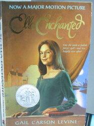 【書寶二手書T1/原文小說_LAK】Ella Enchanted_Gail Carson Levine