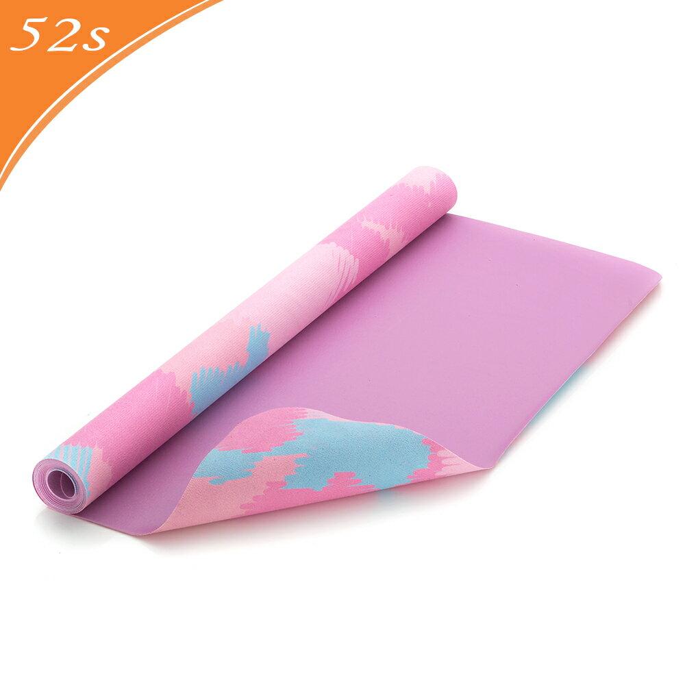 52s 超細纖維瑜珈舖巾墊 馬卡龍花紋 HSC-YGTL-NR02(附贈收納背袋、吊繩) 0