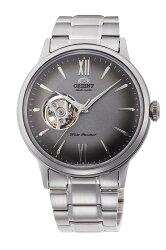 【時光鐘錶】東方錶 ORIENT 經典鏤空 復古機械錶 (RA-AG0029N) 漸層灰/40.5 mm