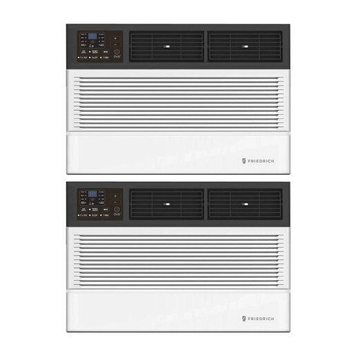 Friedrich Chill Premier 6000 BTU Smart Window Air Conditioner (WIFI) 2-Pack