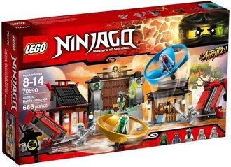 【LEGO 樂高積木】Ninjago 忍者系列 - 飛天忍者競技試煉場 LT-70590