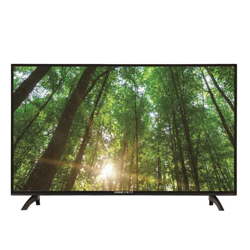 SANLUX 台灣三洋 43吋LED液晶顯示器 液晶電視 SMT-43MA5(含視訊盒)