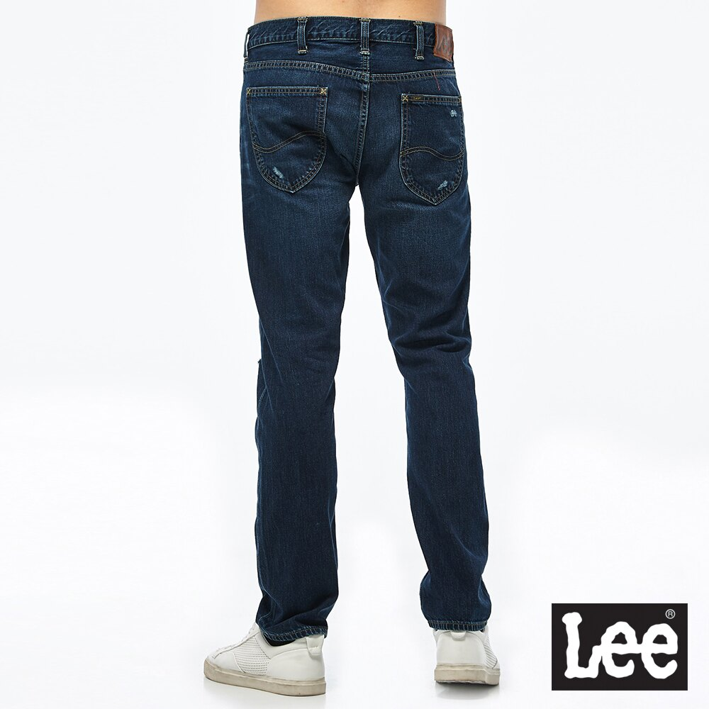 Lee 726 中腰標準小直筒牛仔褲 Mainline 男款 深藍