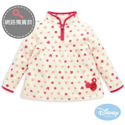 Disney 米奇粉粉圓點立領上衣