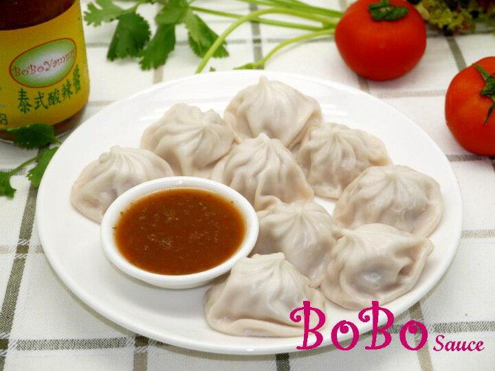 BOBO 食譜 - 小籠湯包沾酸辣醬