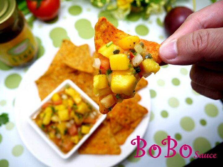 BOBO 食譜 - 全素食泰式芒果莎莎醬
