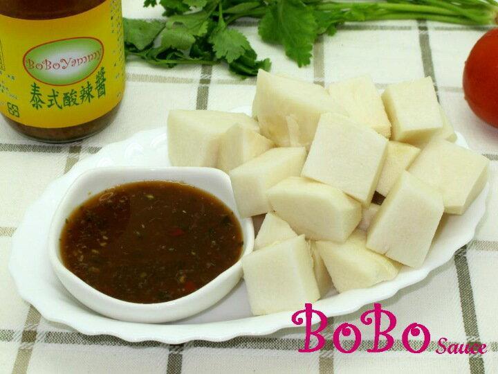 BOBO 食譜 - 涼筍沾素食酸辣醬