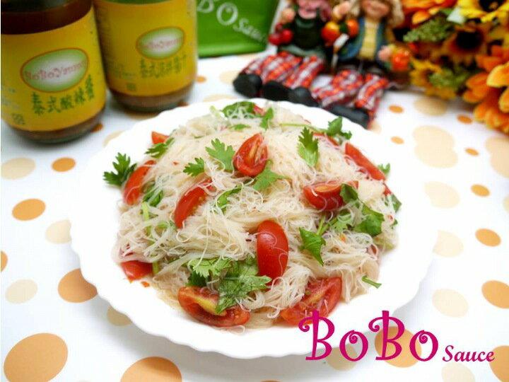 BOBO 食譜 - 全素食泰式酸辣涼拌米粉