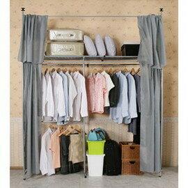 《C&B》衣世家一般型日式頂天立地伸縮衣櫥~原價3880,現正特價中