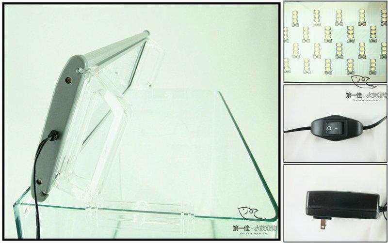 [第一佳 水族寵物] 台灣水族先生Mr.Aqua MA3超亮光上掀式LED跨燈 [1.5尺-270燈] 免運
