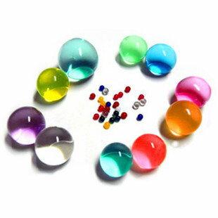 【10種顏色】圓形水晶寶寶(1包10公克).水晶泥.水晶花泥.水晶營養泥.水晶寶寶.水培專用營養.海洋寶寶