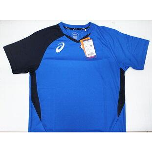【ASICS亞瑟士】2018台灣製排球球衣吸濕速乾抗UVK11805-43藍[陽光樂活=]