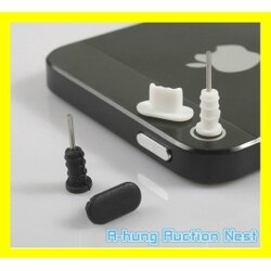 【A-HUNG】iPhone 防塵塞組 耳機塞 充電塞 8 7 6S 5S PLUS 蘋果手機 防塵套 防塵蓋