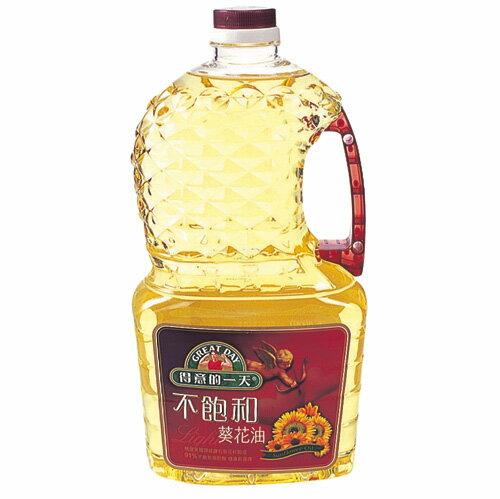 桂格得意的一天不飽和葵花油2.5L【愛買】