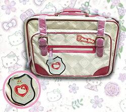 X射線【C906078】Hello Kitty拉桿旅行箱(復古風),登機箱/行李箱/拉桿箱/購物箱/收納箱
