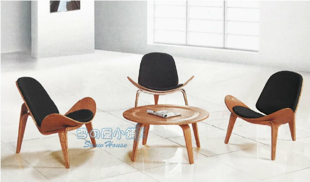 ╭☆雪之屋居家生活館☆╯C-96造型休閒椅+JT-930造型桌(一桌三椅)R1149-03