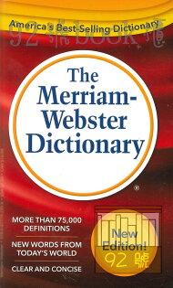92號BOOK櫃-參考書專賣店:TheMerriam-WebsterDictionary(英語詞典)