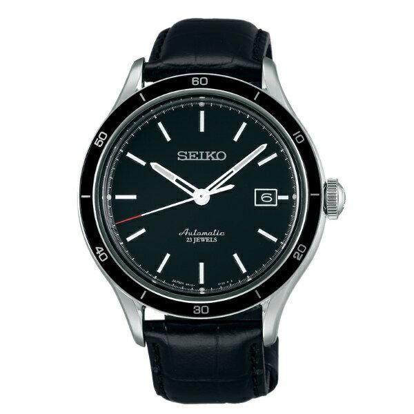 Seiko Presage 6R15-02V0A(SARG017J)城市經典機械腕錶/黑面41mm