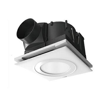 【Ambi-Hi安比好】SUNON 建準 LED照明換氣扇 浴室通風機 BVT21A010     側吸帶燈型(圓燈型-白光/黃光)