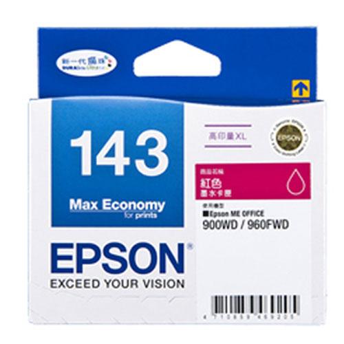 ~EPSON 墨水匣~T143350 紅色 高印量XL墨水匣
